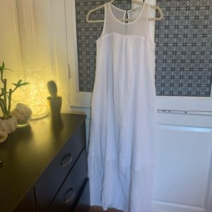 MADEWELL silk/cotton coverup with pockets
